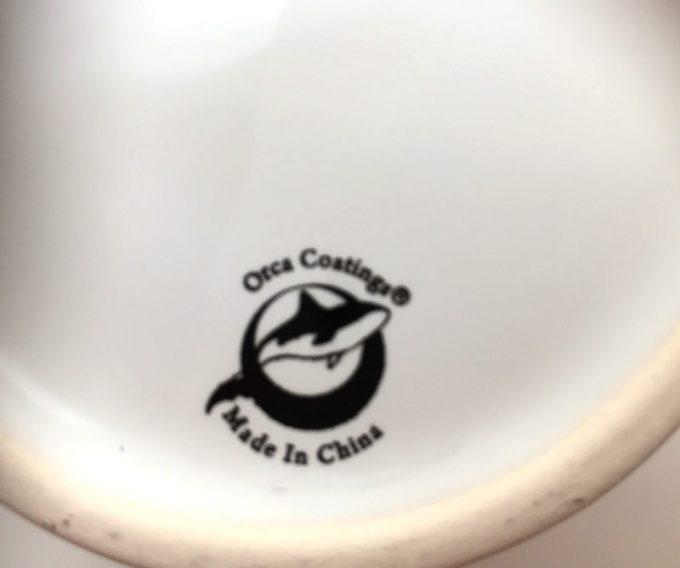 ビスタプリントマグカップの底面